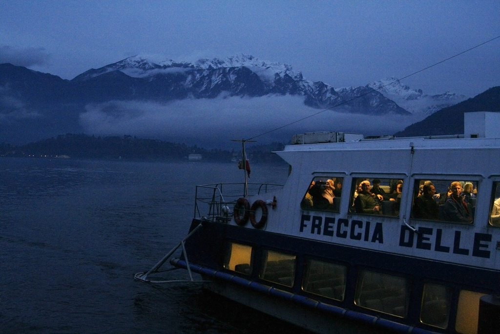 Lake Como: Good enough for George Clooney, good enough for me.