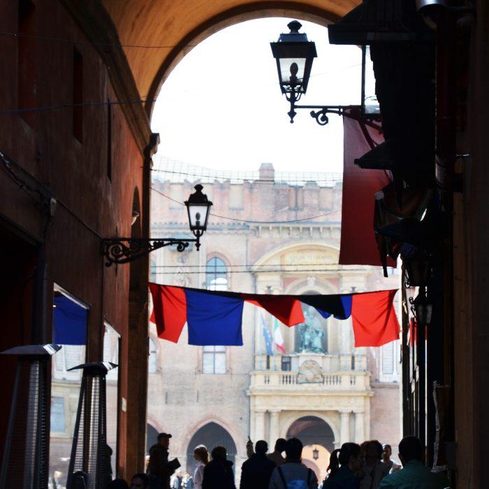 Italian Liberation Day in Bologna
