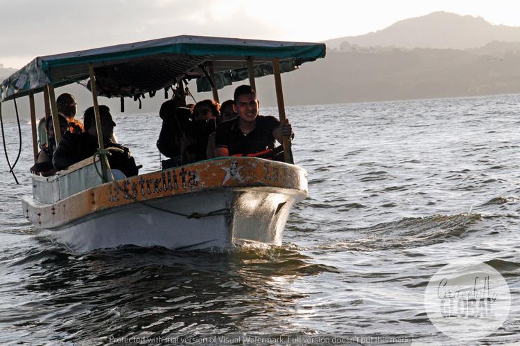 Our boat tour of Laguna Catemaco in Veracruz, Mexico.