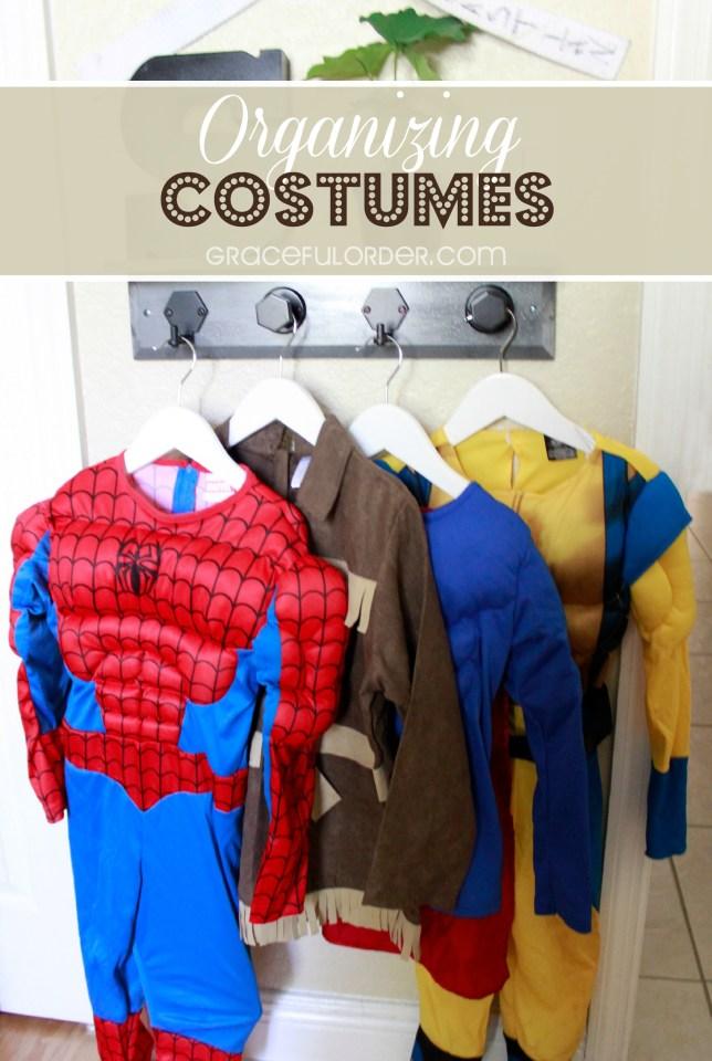 Organizing Costumes