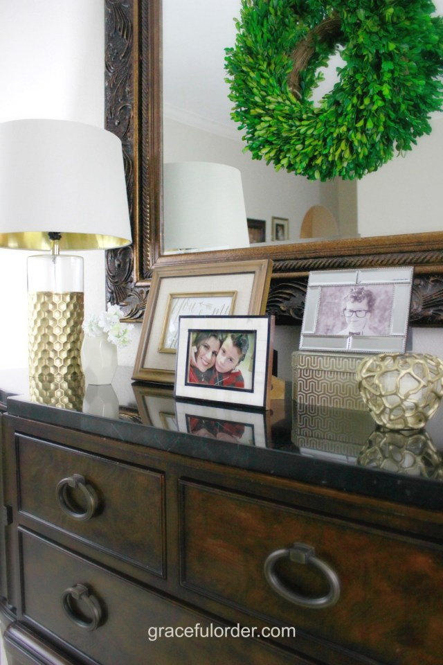Organized Home Week 5 - The Entryway