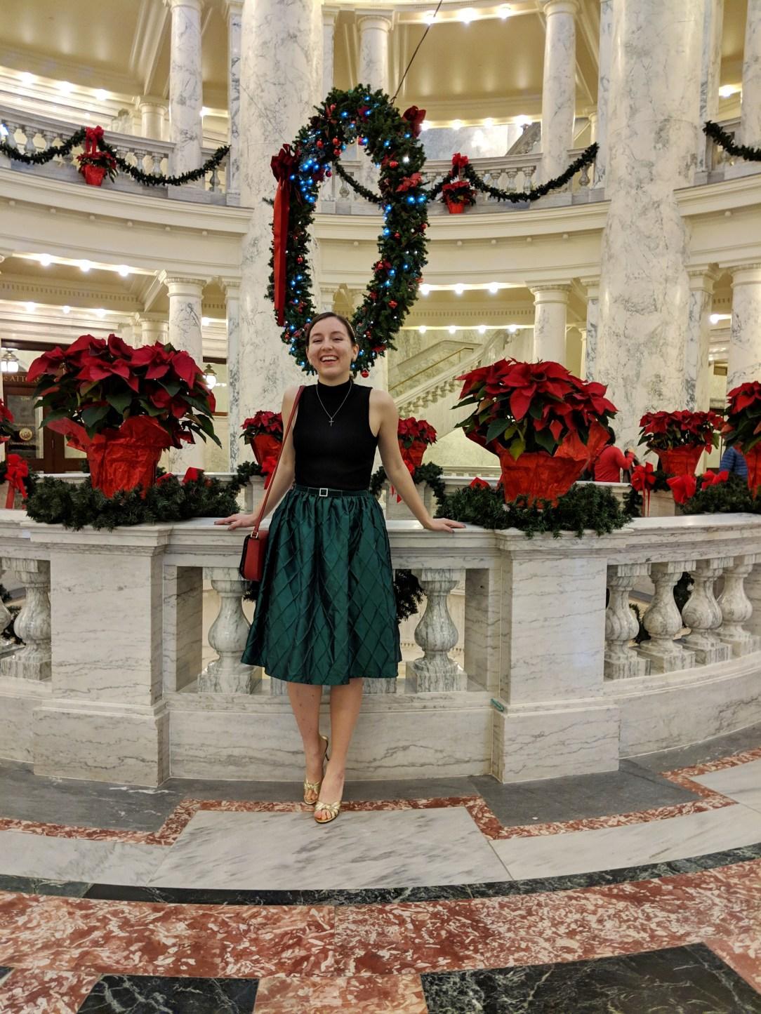 Boise capital building idaho blogger