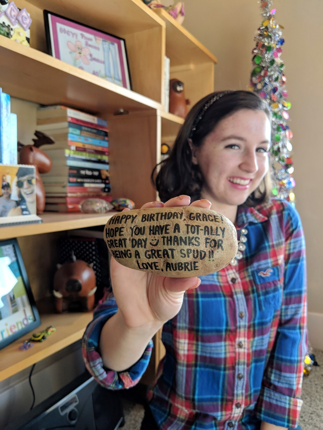 potato gift sent in the mail