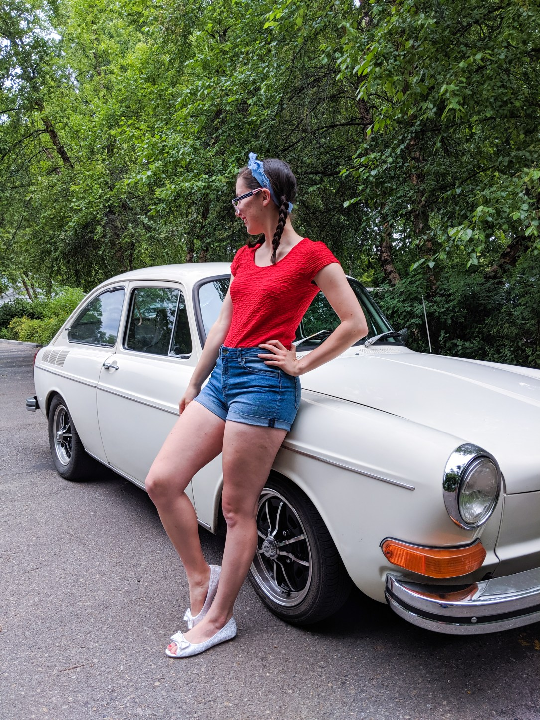 retro outfit, 4th of July inspiration
