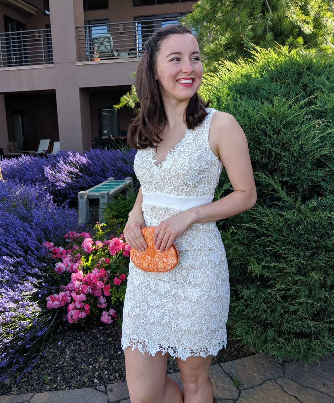 how to style a white dress for the summer