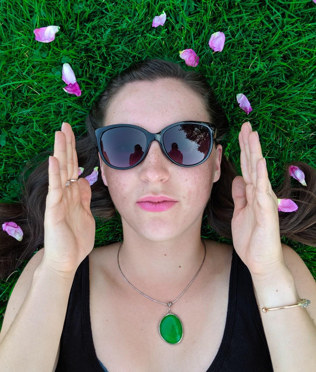 vogue, strike a pose, charming charlie sunglasses