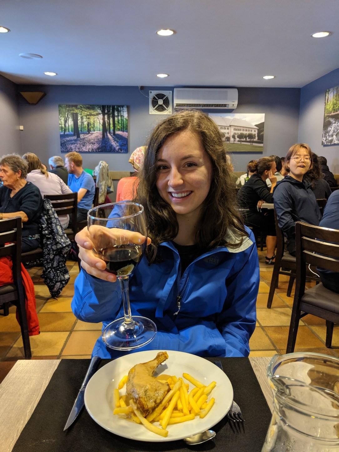 pilgrim menu, dining on the Camino, Camino food