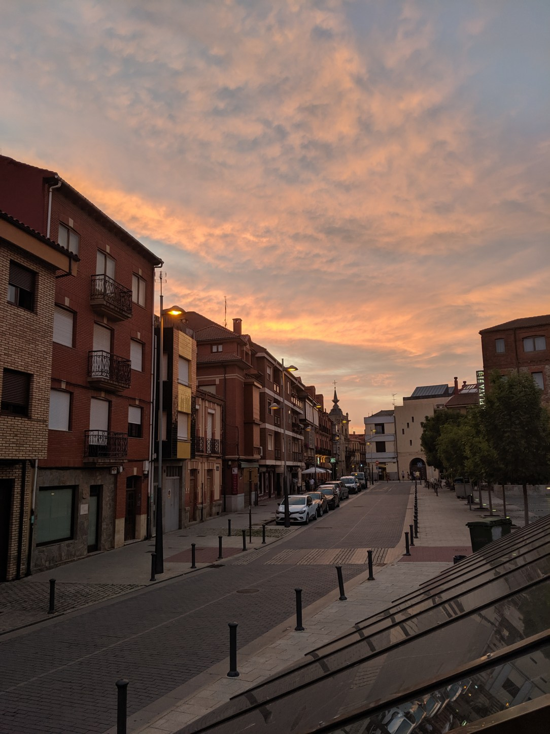 sunsets, Spain, el Camino