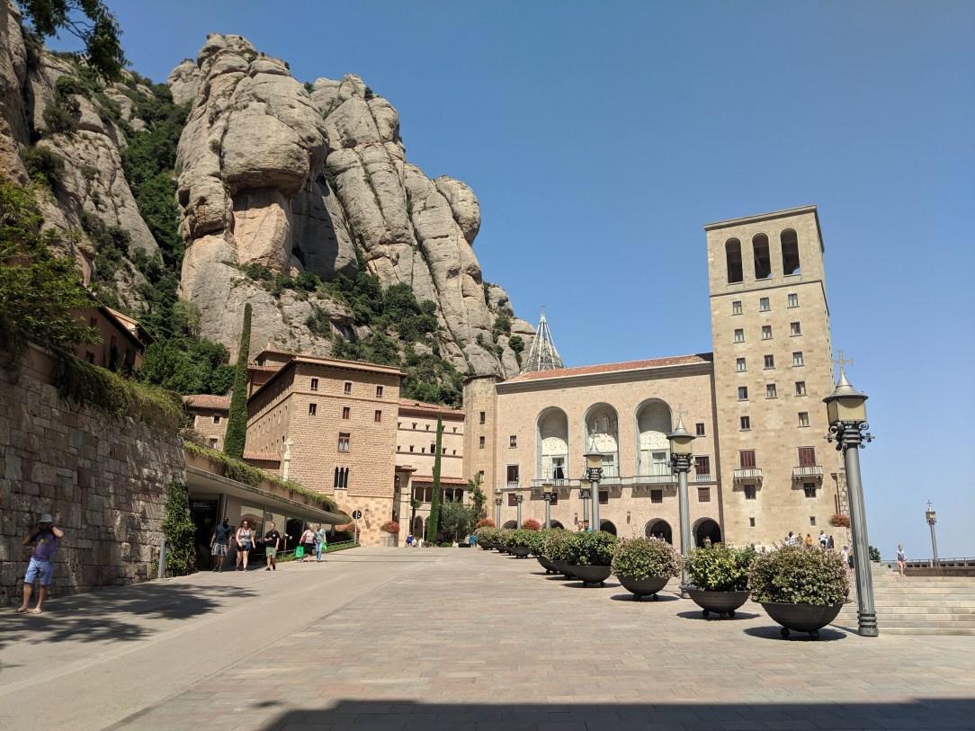 Montserrat, Spain, Black Madonna, monastery
