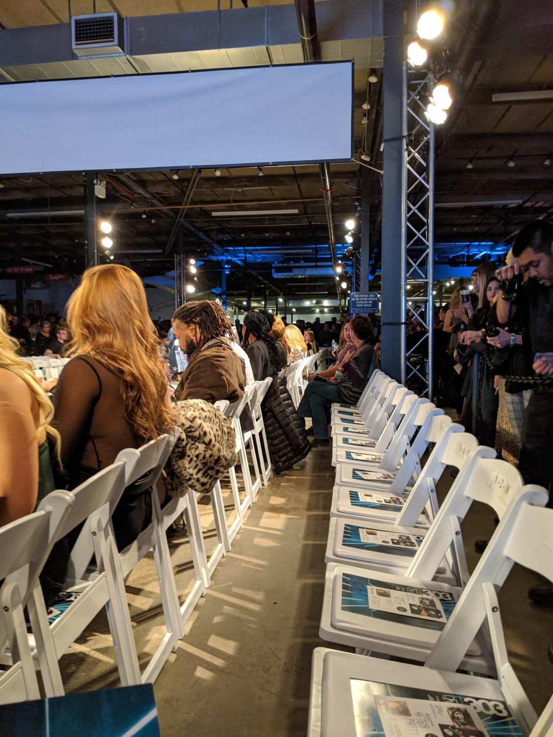 fashion show, Denver blogger, catwalk