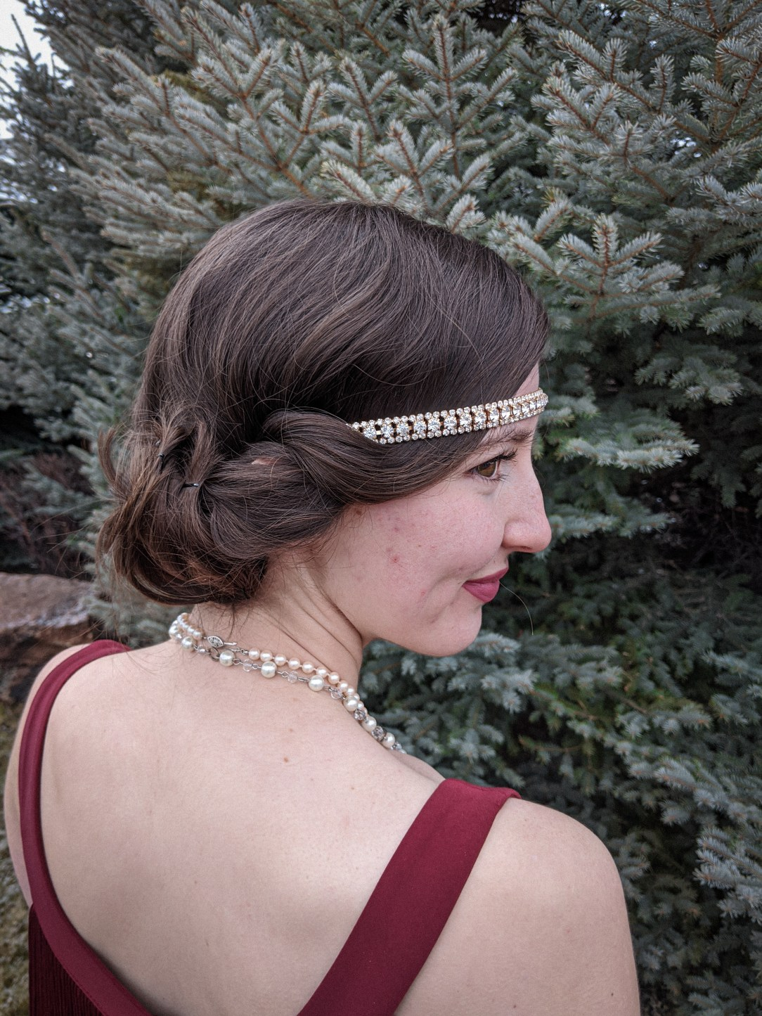 flapper hair, flapper girl hairstyle