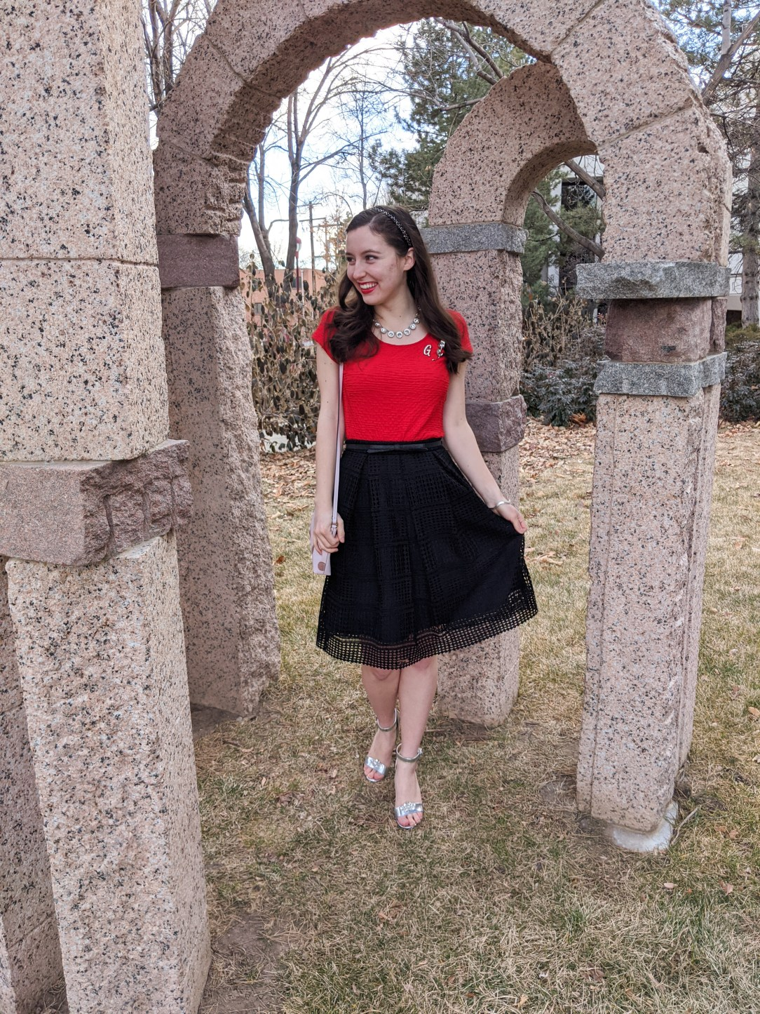 Valentine's Day outfit, February 14, festive outfits