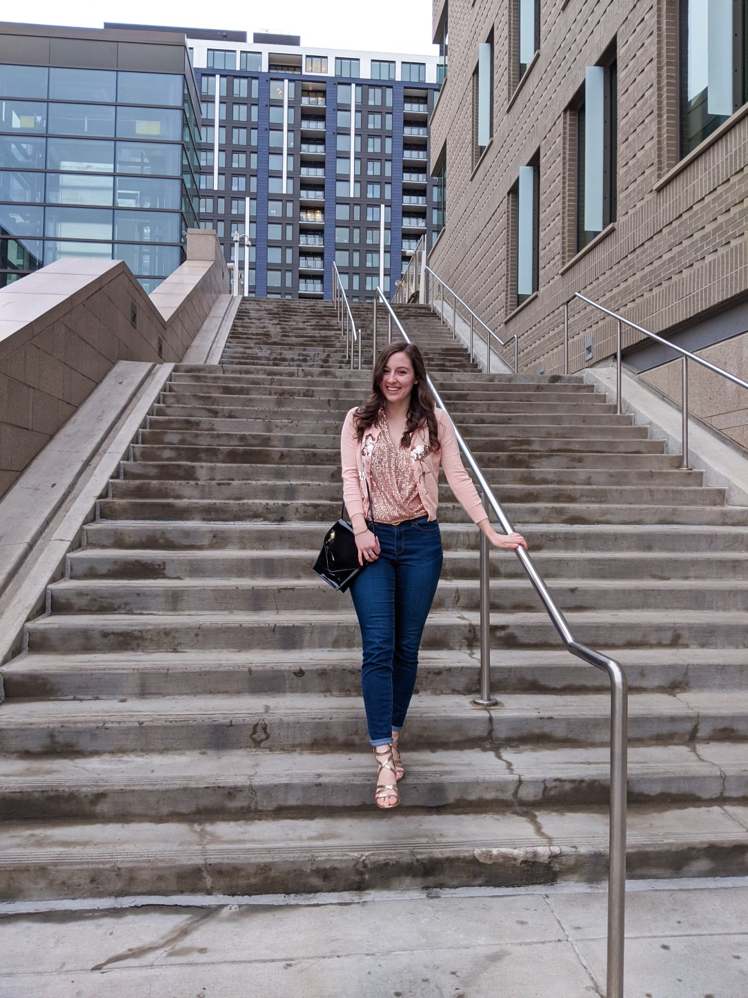 rose gold sparkles, Denver blogger, affordable fashion, self-love