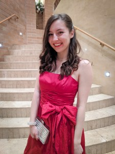 red dress, bow dress, thrifting, fun things to do on Valentine's Day