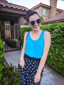 striped-sunglasses-umbrella-skirt-turquoise-top