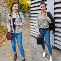 Camo Outfit Two Ways