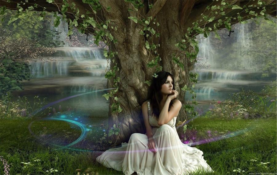 girly-nature-beautiful-fantasy-girl-alone-sweet-angel