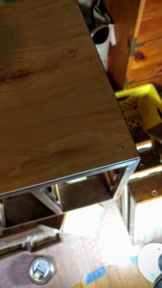 New wood!