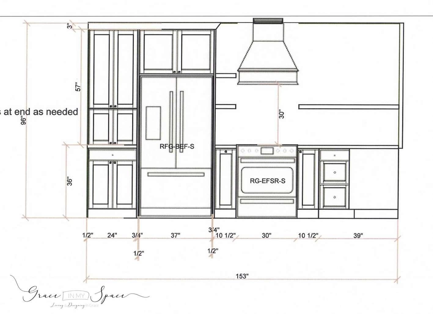 Custom Kitchen Design Plan