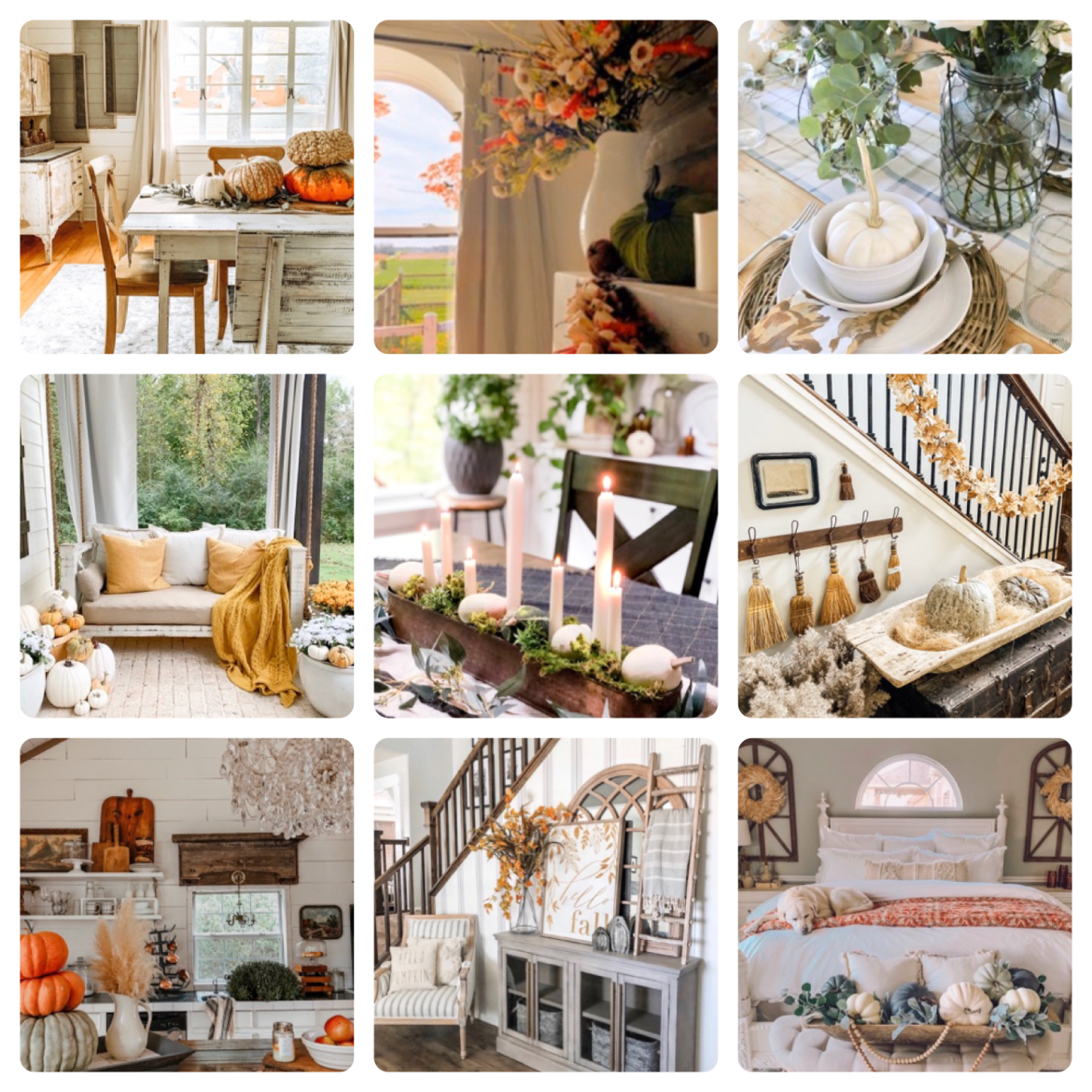 9 fall home tours