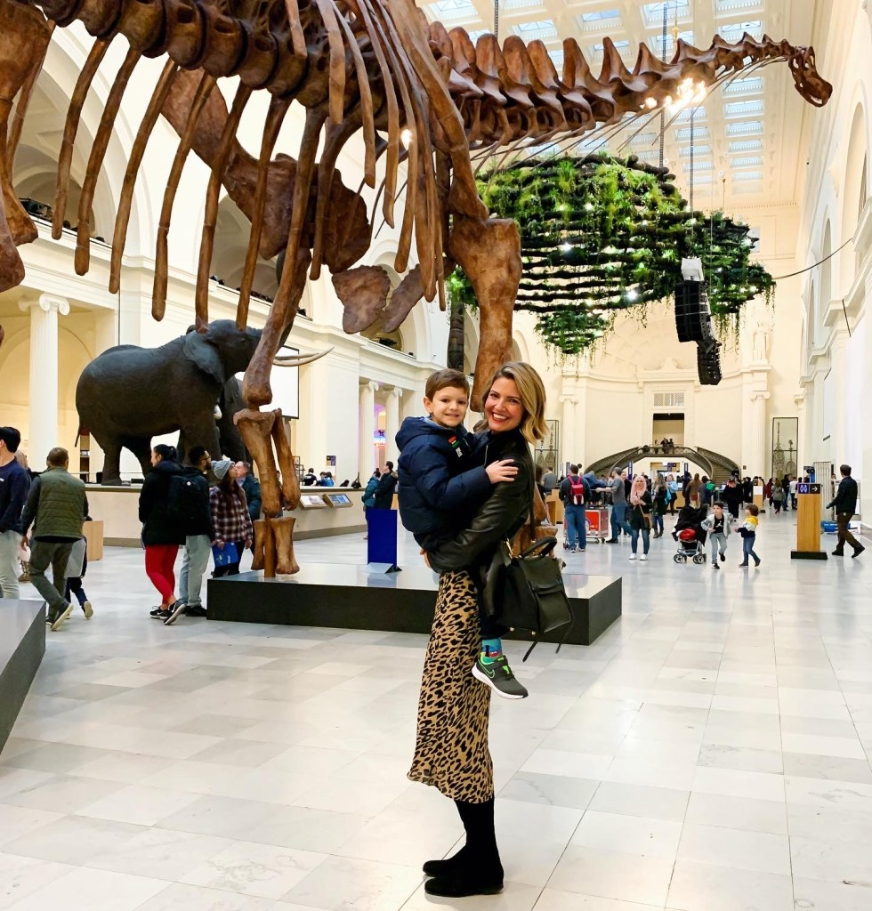 Taking Sloan to see the dinosaurs | The lessons 2020 taught me