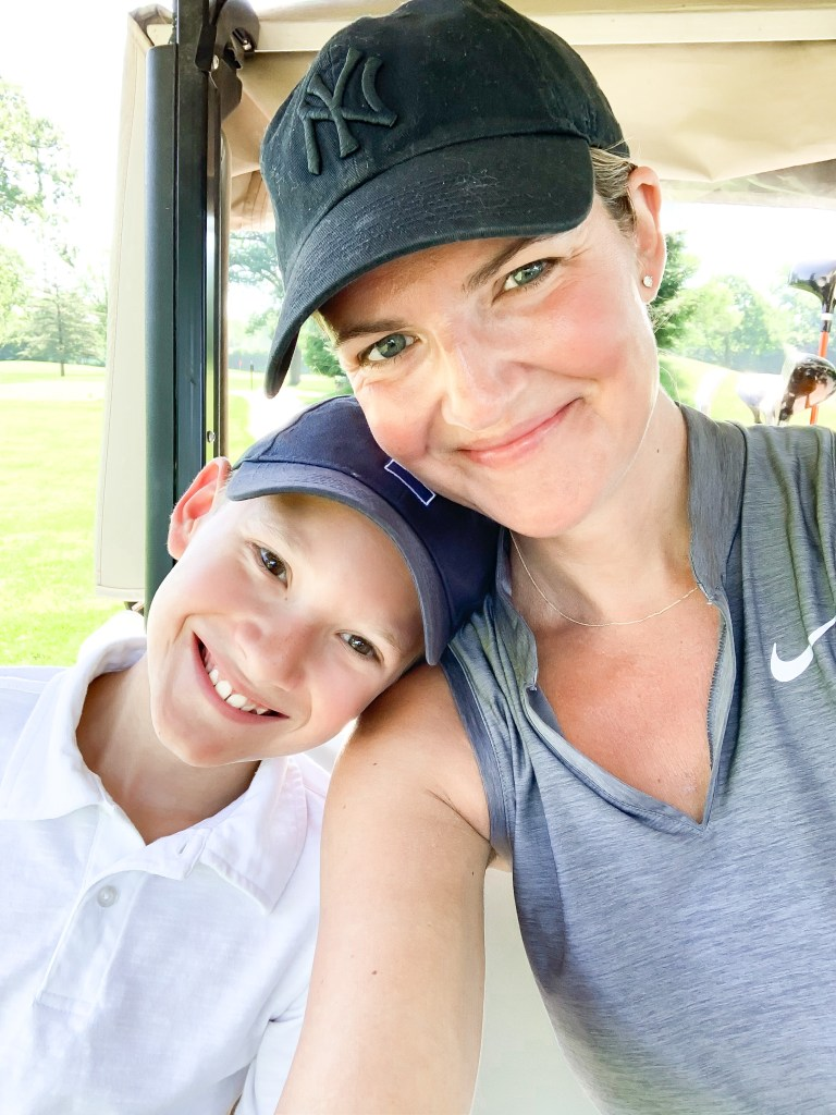 Golfing with my son | The lessons 2020 taught me