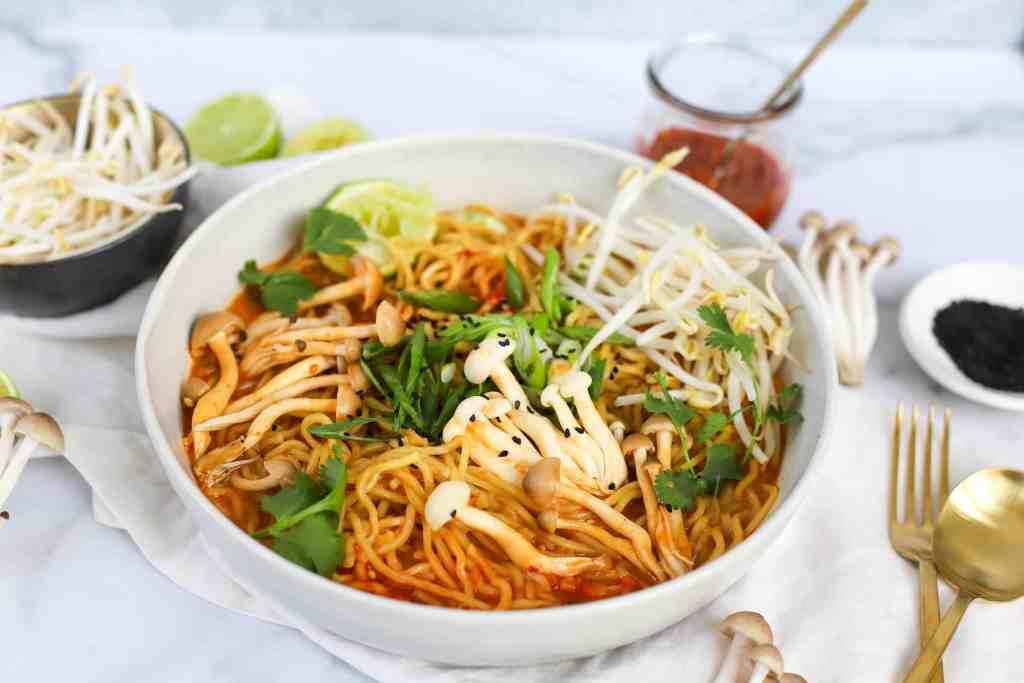 30-minute vegetarian ramen recipe