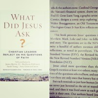 What Did Jesus Ask?-edited by Elizabeth Dias