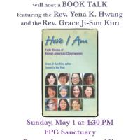 Here I Am: Book Talk at Fairfax Presbyterian Church