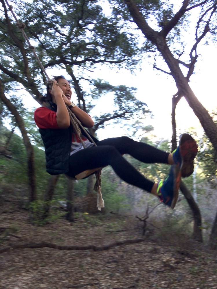 me swinging