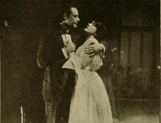 Mahlon Hamilton and Olga Petrova