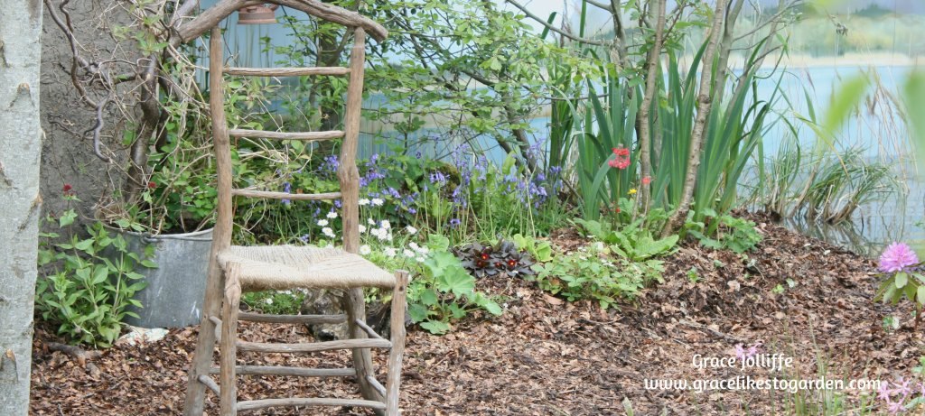 a chair in a secret garden from Bloom Garden Festival