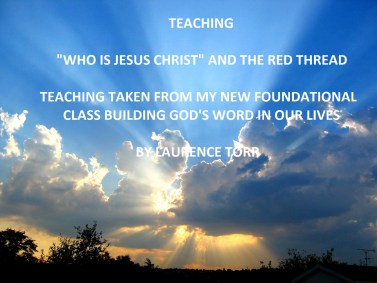 who is Jesus and the red thread