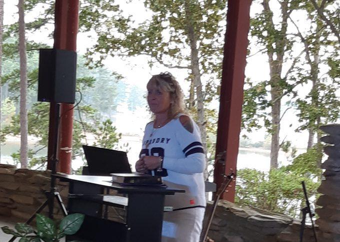 Kim Torr's Second sharing from Appling Camp in Atlanta Georgia