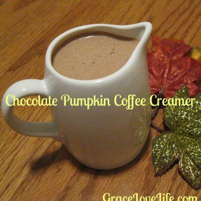 Chocolate Pumpkin Coffee Creamer