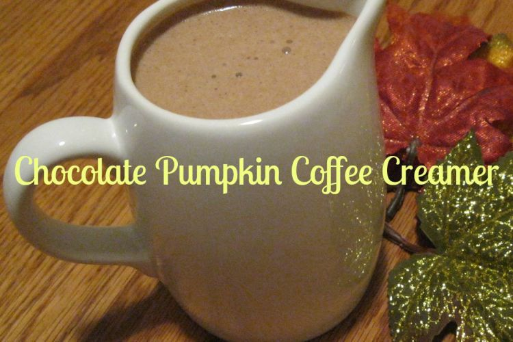 Chocolate Pumpkin Coffee Creamer