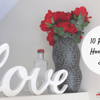 10 Romantic Home Decor Ideas