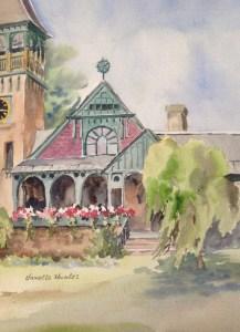 Painting of Grace Memorial Chapel
