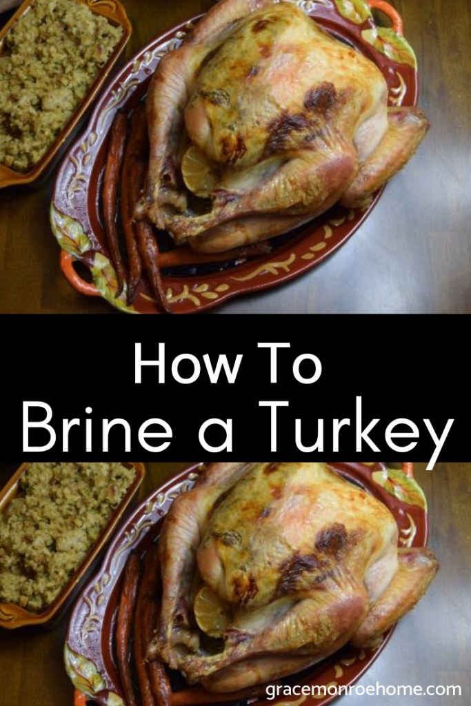 How to Brine a Turkey for The Juiciest Turkey You Will EVER Eat!