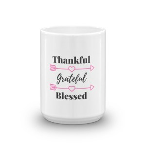 This Grateful Thankful Blessed Coffee Mug makes a perfect gift
