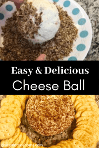 Quick & Easy 4 Ingredient Cheese Ball - So Good!!