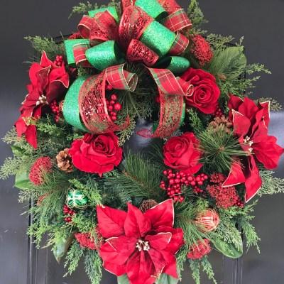 Designer Christmas Wreath
