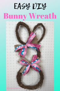 How to Make a Grapevine Bunny Wreath