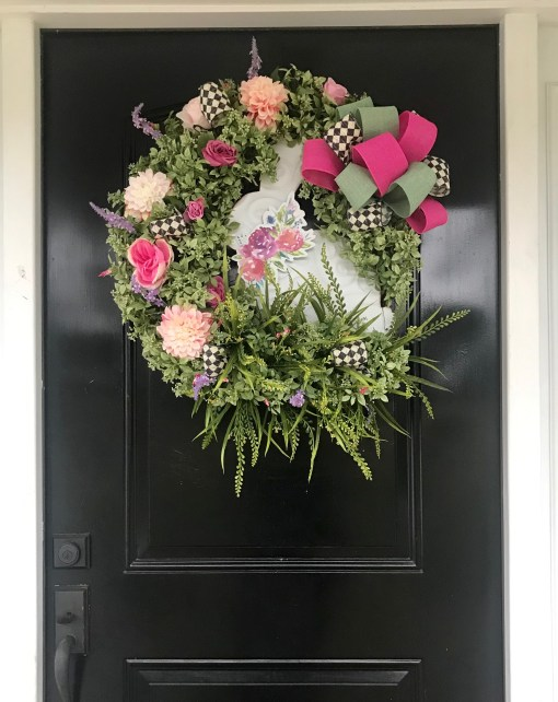 Spring Wreath for Door