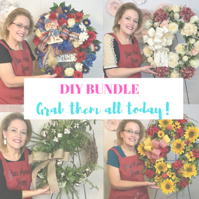 How to Make Designer Wreaths - Tutorial Video Bundle