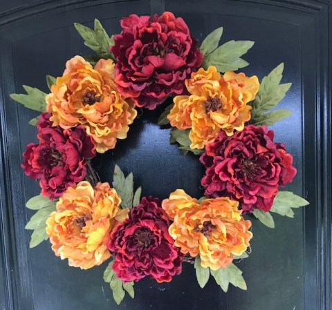 Super Easy DIY Fall Wreath To Make!