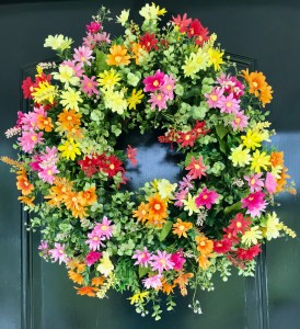 Summer Wreath for Doors
