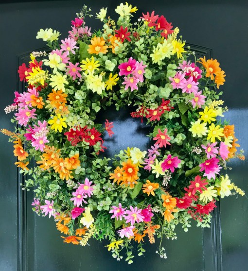 Summer Wreath for Doors