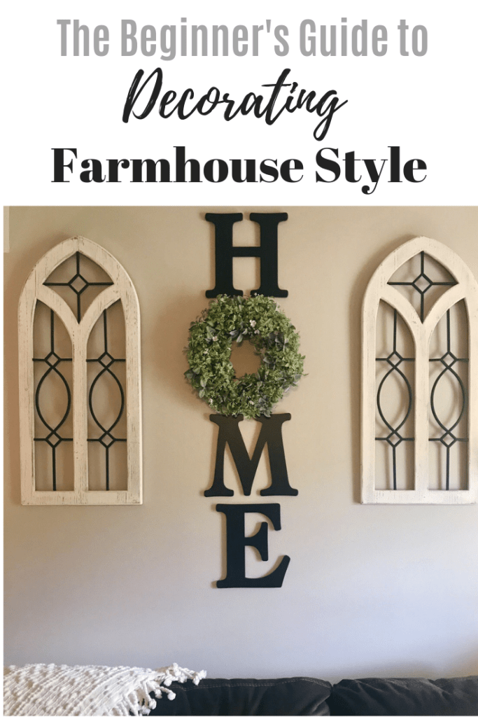 Tips for Farmhouse Style Decor & Accents