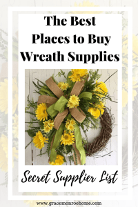 Top Vendors and Suppliers of Wreath Materials